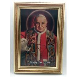 Obrazek 12,5 x 17,5 cm - św. Jan XXIII