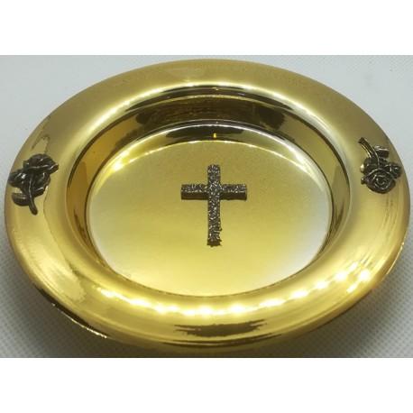 Miseczka na wodę święconą - złota