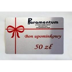 Bon upominkowy - 50 zł