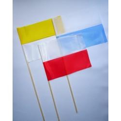 chorągiewka materiałowa - 3 kolory
