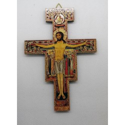 Krzyż z San Damiano - krzyż św. Franciszka - 14 x 10 cm