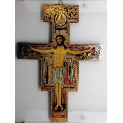 Krzyż z San Damiano - krzyż św. Franciszka - 20 x 14,5 cm