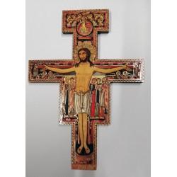Krzyż z San Damiano - krzyż św. Franciszka - 24 x 17 cm