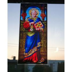 Witraż magnetyczny - św. Piotr