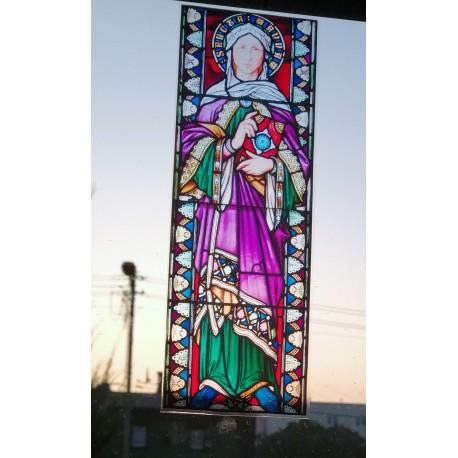Witraż magnetyczny - św. Anna