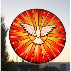 Witraż magnetyczny - Duch Św.