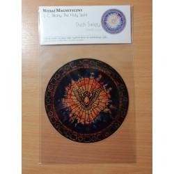 Witraż magnetyczny - Duch Św. niebieski