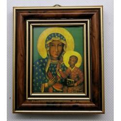 Obrazek w ramce - MB Częstochowska - 7,2 x 8,5 cm