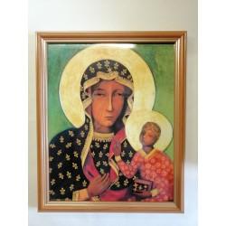 Obrazek w ramce - MB Częstochowska - 28,5 x 23,5cm