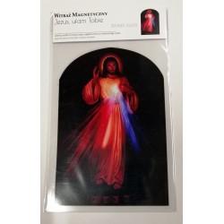 Witraż magnetyczny- Jezu Ufam Tobie