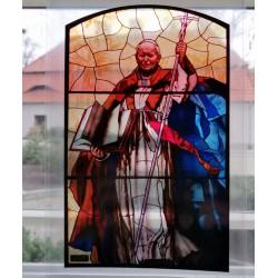 Witraż magnetyczny- Św. Jan Paweł II