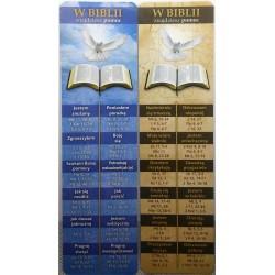 Zakładka do książki - W Biblii znajdziesz pomoc