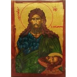Ikona - św. Jan Chrzciciel