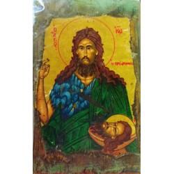 Ikona - Jan Chrzciciel