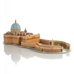 Puzzle 3D - Bazylika św. Piotra w Watykanie