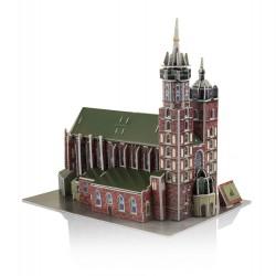 Puzzle 3D - Kościół archiprezbiterialny Wniebowzięcia Najświętszej Marii Panny w Krakowie