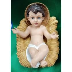 Dzieciątko w żłóbku 15 cm