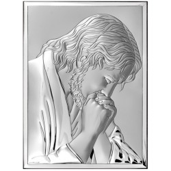Srebrny obrazek - Jezus Chrystus