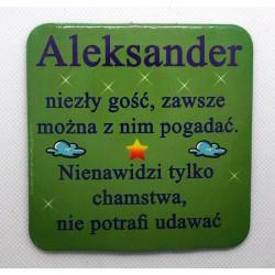 """Podkładka pod kubek """"Aleksander"""""""