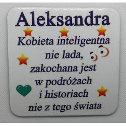 """Podkładka pod kubek """"Aleksandra"""""""