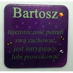 """Podkładka pod kubek """"Bartosz"""""""
