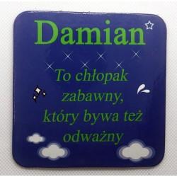 """Podkładka pod kubek """"Damian"""""""