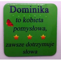 """Podkładka pod kubek """"Dominika"""""""