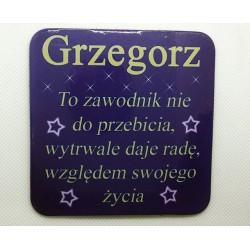 """Podkładka pod kubek """"Grzegorz"""""""