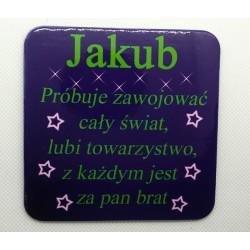 """Podkładka pod kubek """"Jakub"""""""