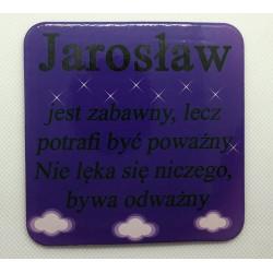 """Podkładka pod kubek """"Jarosław"""""""