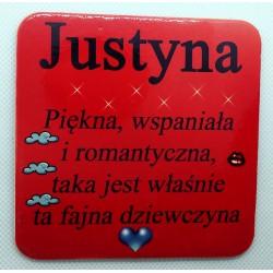 """Podkładka pod kubek """"Justyna"""""""