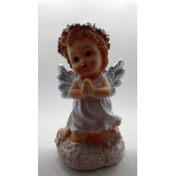 Aniołek modlący się na chmurce - żywica