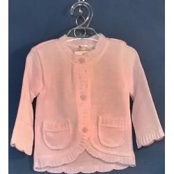 Sweterek dziewczęcy  - 2 - 80