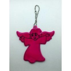 Odblask - aniołek różowy