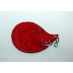 Odblask - Duch Święty czerwony