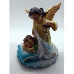 Anioł Stróż - niebieski