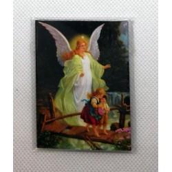 Magnes, nóżka, zawieszka - Anioł Stróż
