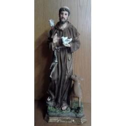 Figurka - Św. Franciszek - 40 cm